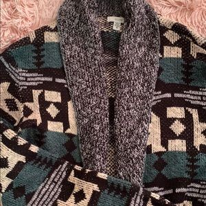 Gorgeous long Aztec cardigan